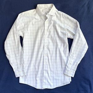 Brooks Brothers Men's 16.5 Button Front Shirt
